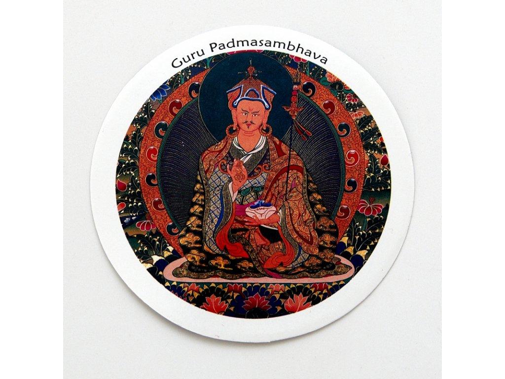 Samolepka Tibet - Guru Padmasambhava I