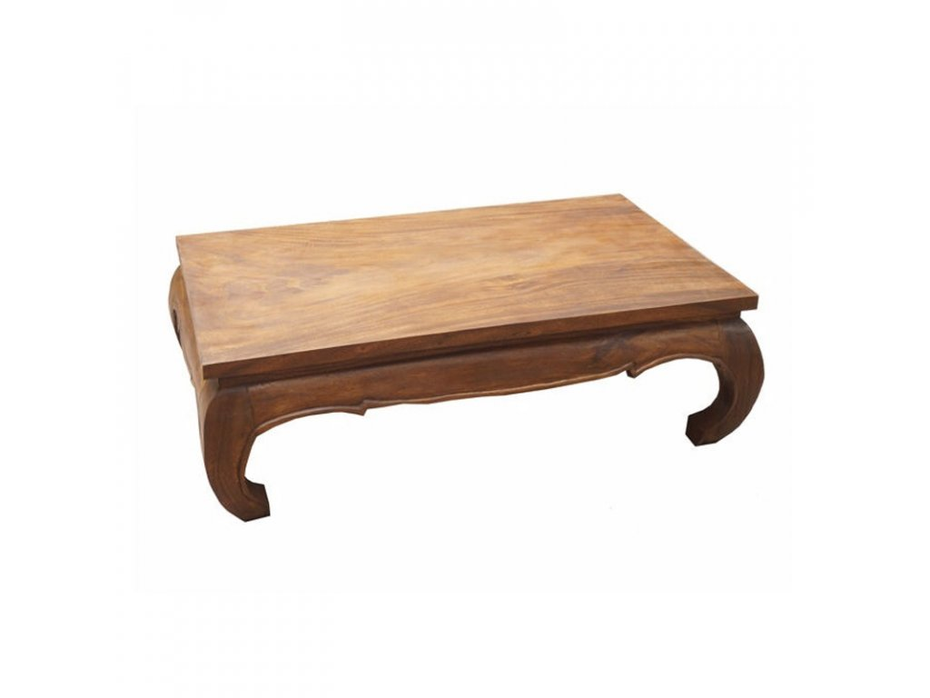 Stůl dřevo Opium 75 x 128 cm