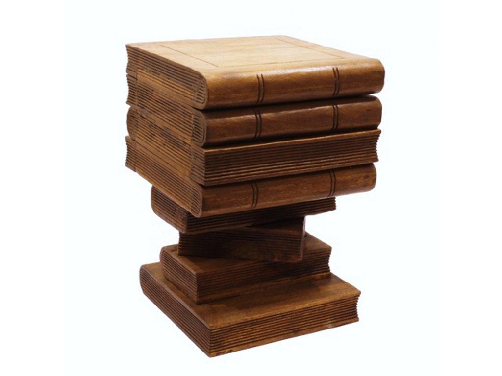 Stolička dřevo Books