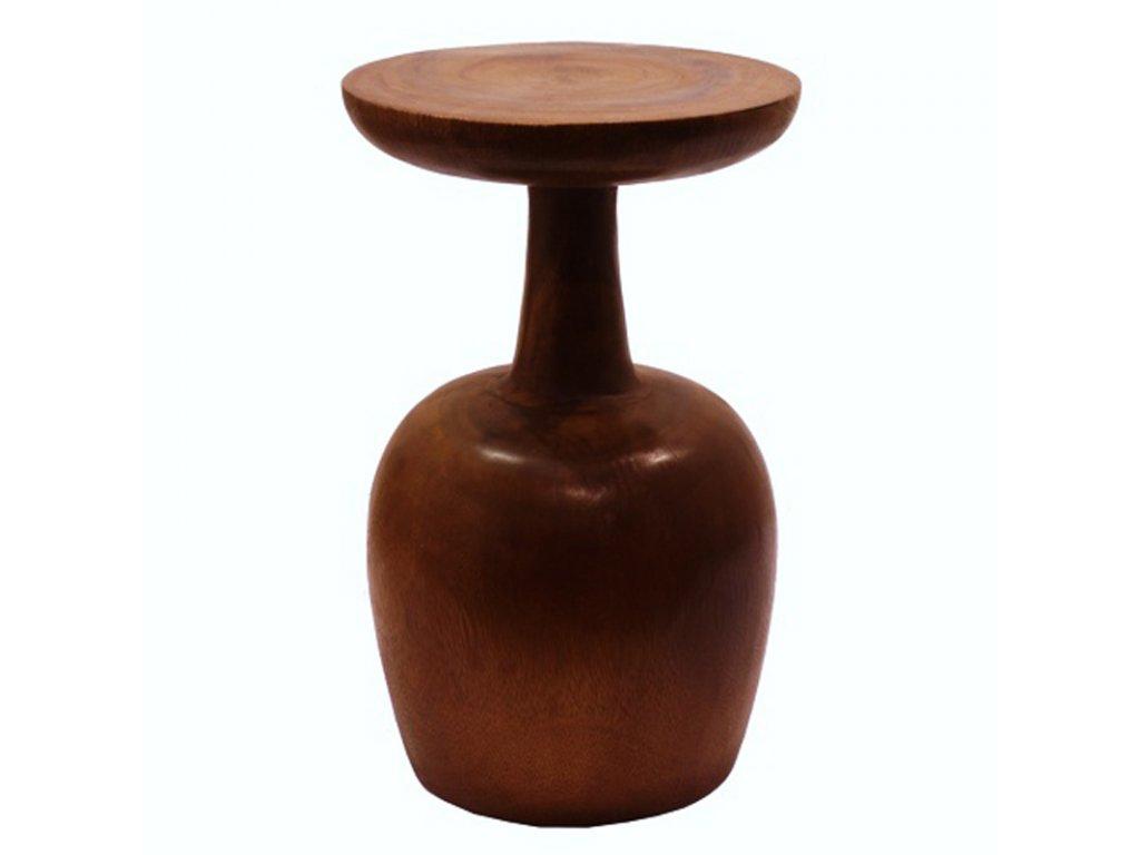Stolička dřevo Claret