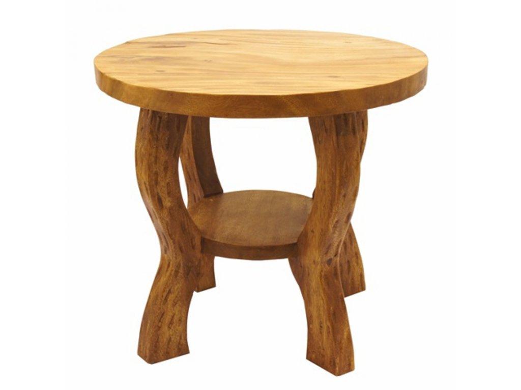 Stůl dřevo Round Plain