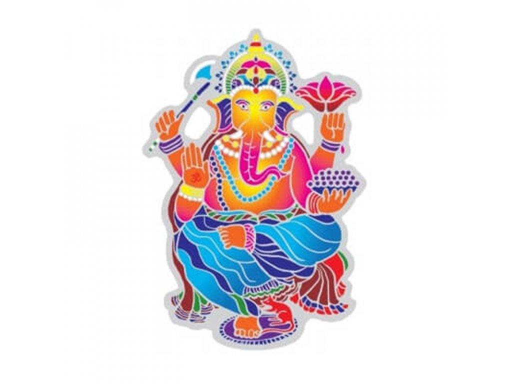 Spiritual Suncatcher Dancing Ganesha
