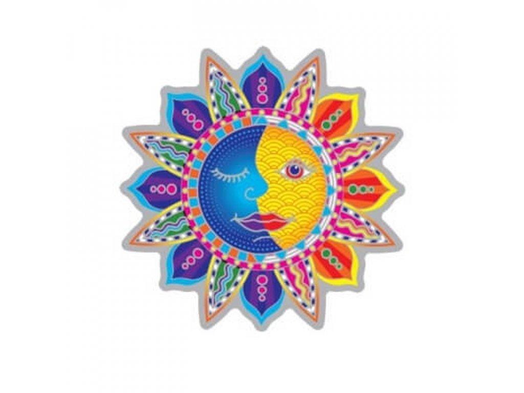 Spiritual Suncatcher Sun Moon