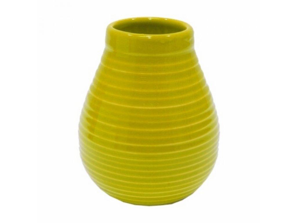 Kalabasa keramika YERBA 350 ml žlutá