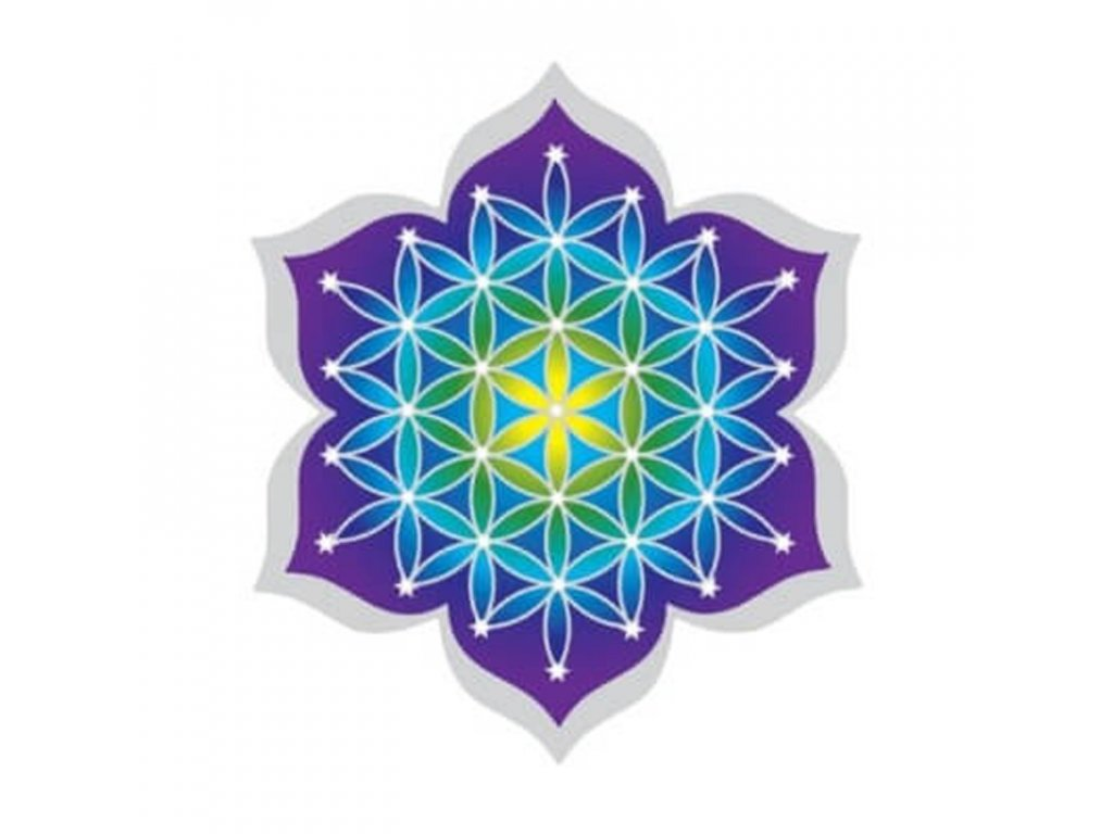Spiritual Suncatcher Flower of Life