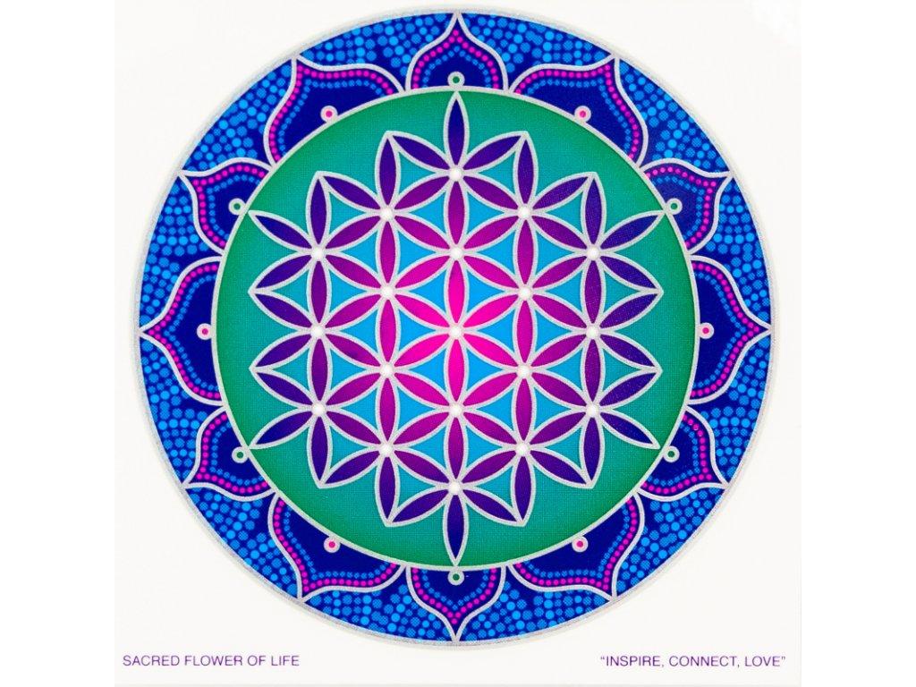 Mandala Sunseal V Sacred Flower of Life