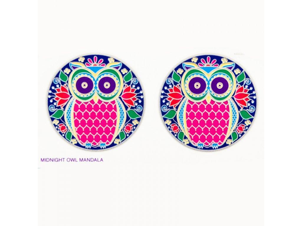 Mandala Sunlight M Midnight Owl