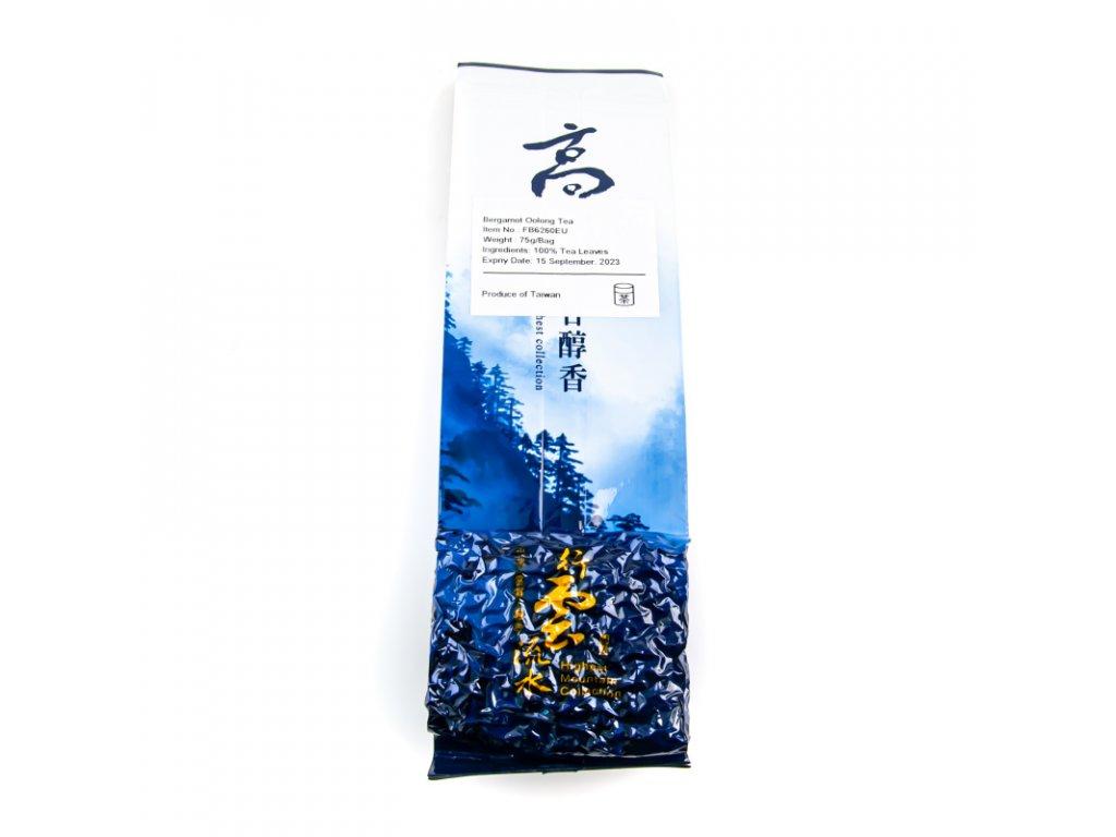 Taiwanský polozelený čaj Formosa Bergamot Oolong 75 g