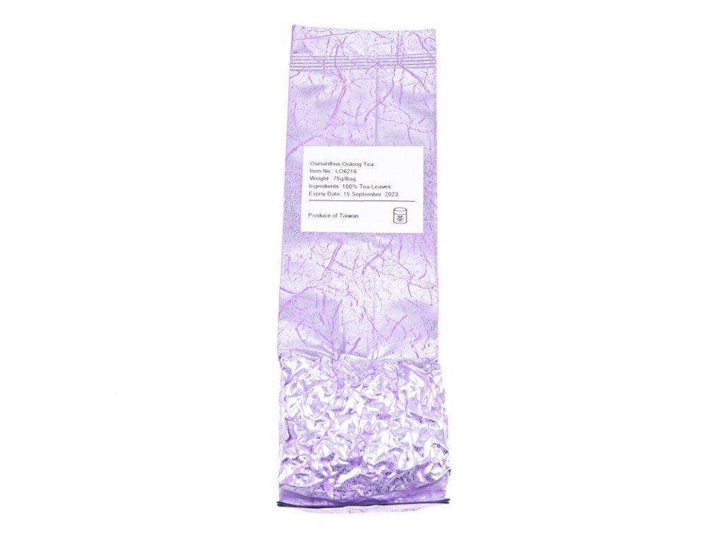 Taiwanský polozelený čaj Formosa Osmanthus Oolong 75 g