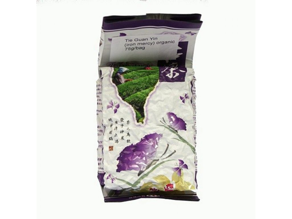 Taiwanský polozelený čaj Formosa Tie Guan Yin Oolong 75 g