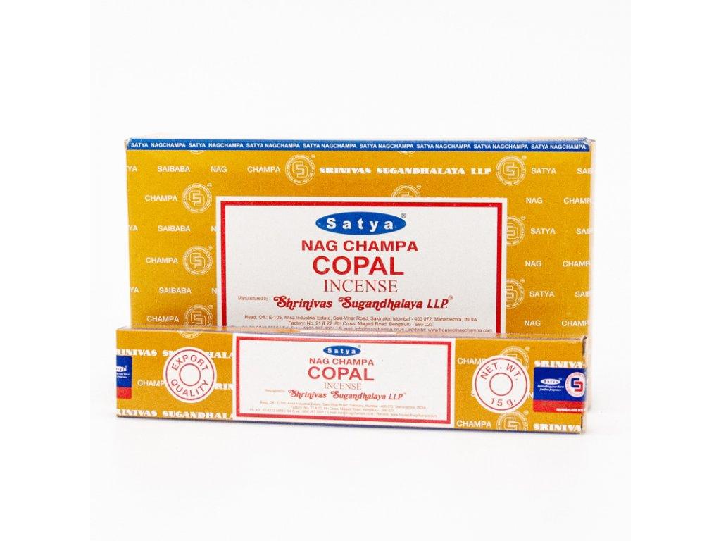 Indické vonné tyčinky Satya PK Copal 15 g