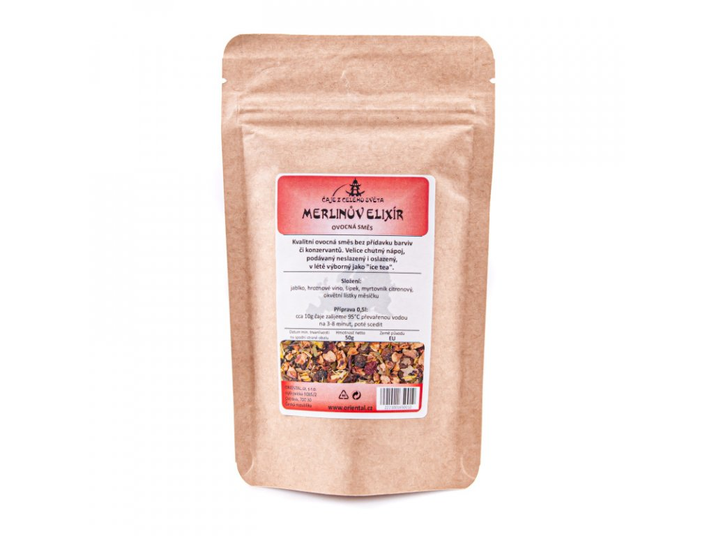 Ovocný čaj Merlinův elixír 50 g