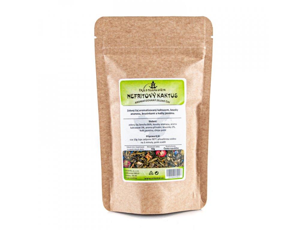 Čaj aromatizovaný Nefritový kaktus 50 g
