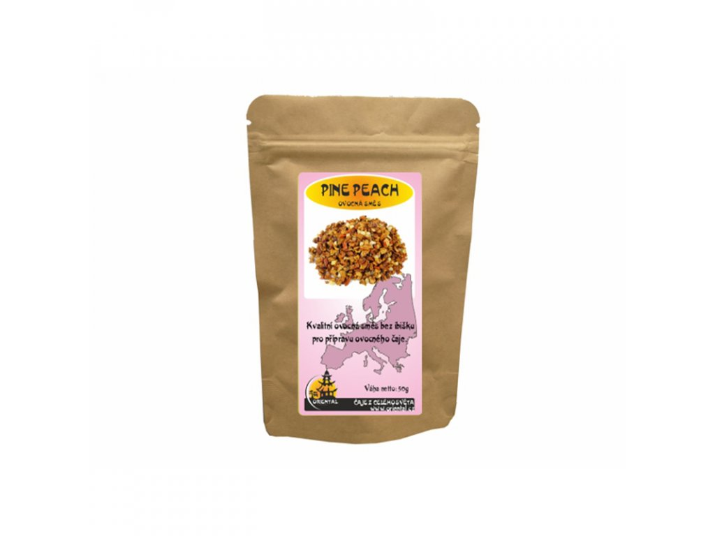 Ovocný čaj Pine Peach 50 g