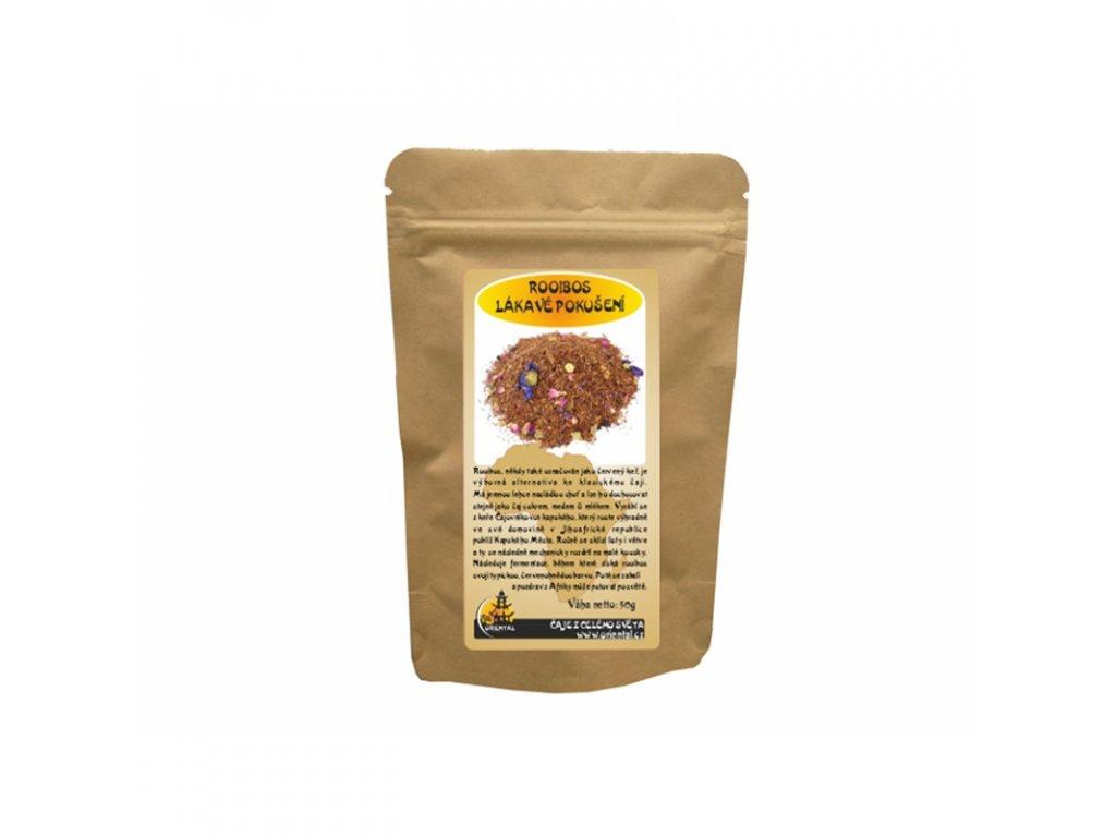 Bylinný čaj Rooibos Lákavé pokušení 50 g