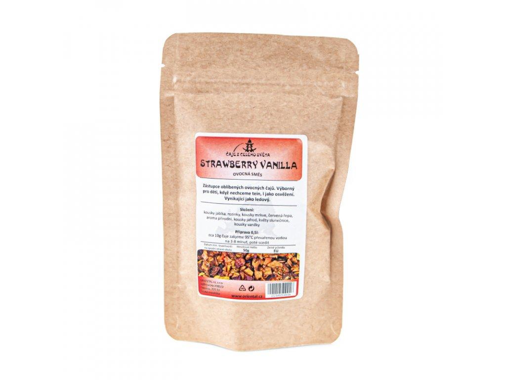 Ovocný čaj Strawberry Vanilla 50 g