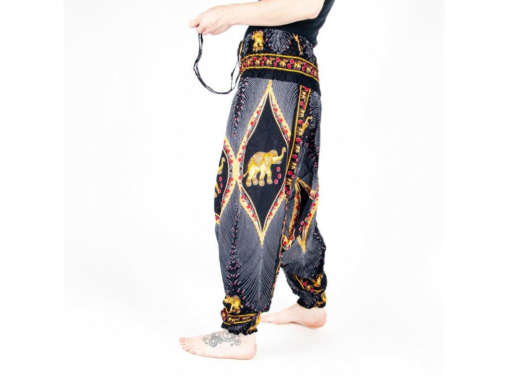 Kalhoty turecké dámské Ceremonial Elephant M černá