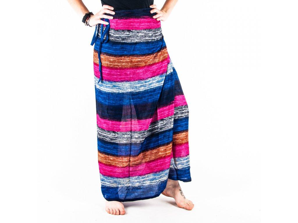 Sukně Multicolor Stripes 01