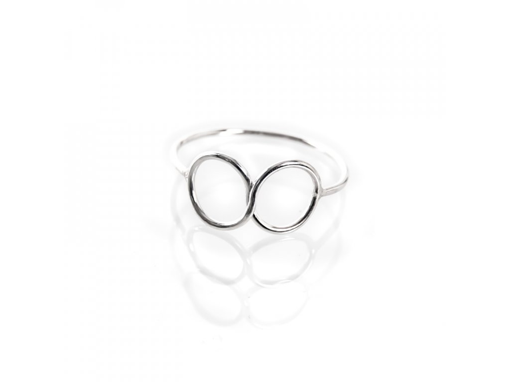 Prsten stříbro Simple Nekončeno 08