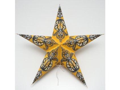 Lampion stínidlo hvězda Karishma II.