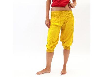 Kraťasy Yoga Bali žlutá