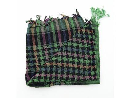 Šátek palestina arafat zelená 01