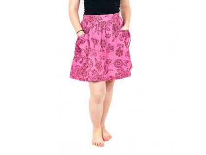 Sukně Jasmína mini S růžová