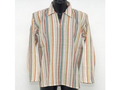 Košile kurta Daniel M natural