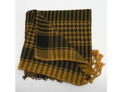 Šátek palestina arafat bavlněný žlutá