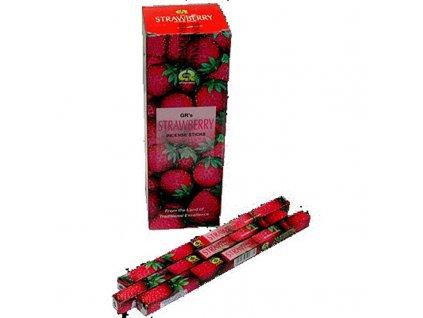 Indické vonné tyčinky GR SQ Strawberry