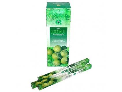 Indické vonné tyčinky GR SQ Coconut
