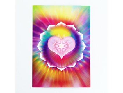 Vibrační obrázek Lotosové srdce