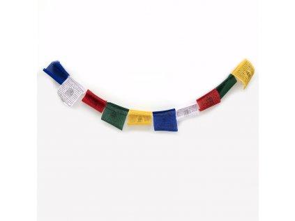 Tibetské modlitební vlaječky Lungta v2.1 11 x 14 cm 10 ks