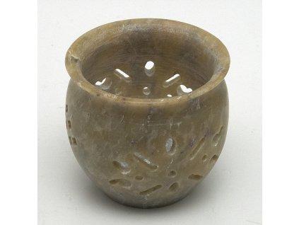 Svícen na čajové svíčky - ornamenty