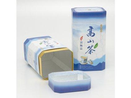 Dóza na čaj papír blue