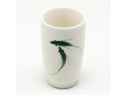 Šálek porcelánový Fishes vysoký