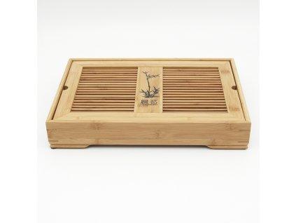 Čajové moře bambus II 40 x 28 x 7 cm