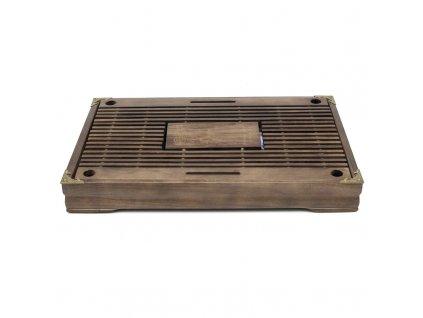 Čajové moře bambus tmavě hnědá 43 x 27 x 5,5 cm