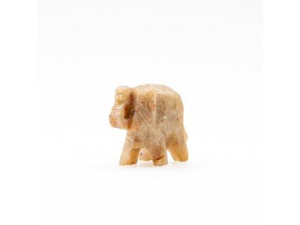 Slon mini pidi kamenný