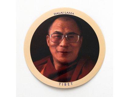 Samolepka Tibet - Dalai Lama