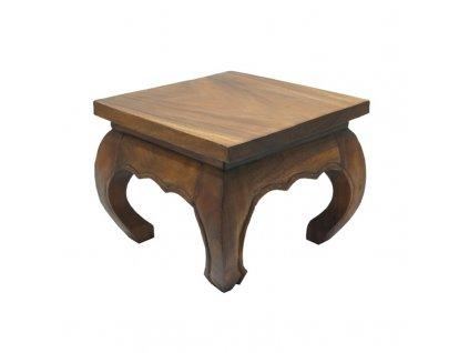 Stůl dřevo Opium 30 x 30 cm
