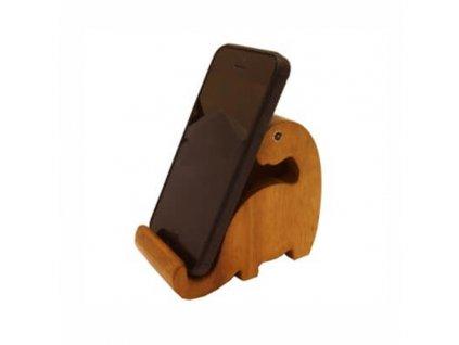 Stojan na mobil dřevo Brontosaurus 9 cm