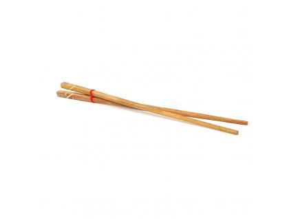 Jídelní hůlky dřevo Thai 01 25 cm