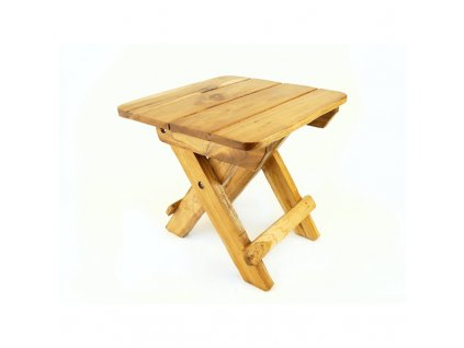 Stolička dřevo skládací Easy Trip 29 cm světlá