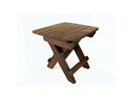 Stolička dřevo skládací Easy Trip 29 cm tmavá