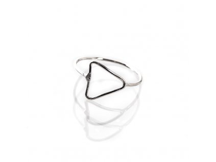 Prsten stříbro Simple Šipka 08
