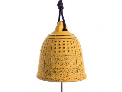 Zvon Iwachu Furin Feng Shui 5,5 cm žlutá