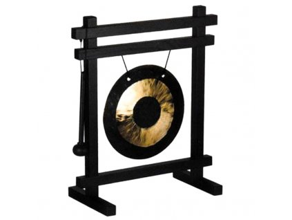 Gong stolní Traditional Black