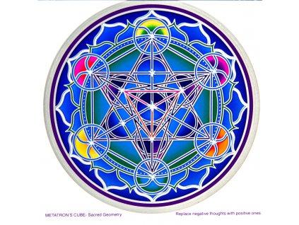 Mandala Sunseal V Metatron's Cube