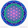 Mandala Sunseal V Sacred Flower of Life